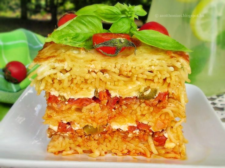 Az otthon ízei: Húsos rakott tészta