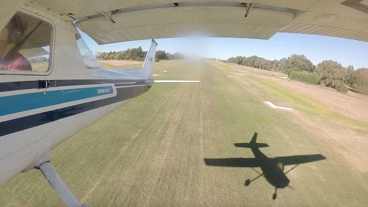 Montaje exterior de GoPro en Cessna 152