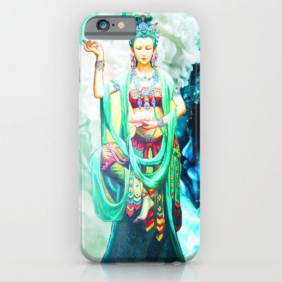 20% Off+Free Shipping on Phone Cases #LoveTwitter #society6 #society6home #society6deco #kids #kidspainting #yoga  https://society6.com/product/the-goddess-of-mercy-947_iphone-case#s6-8098891p20a9v430a52v377