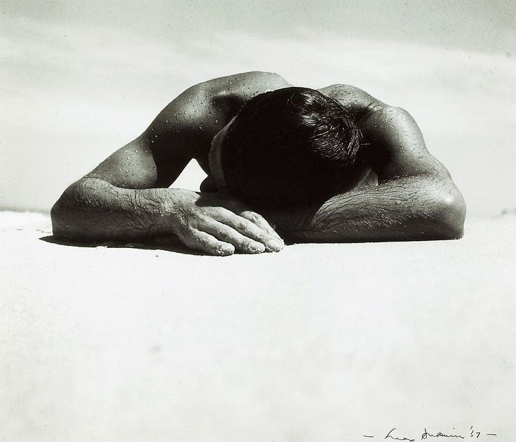 Sunbaker photo by Max Dupain, 1937