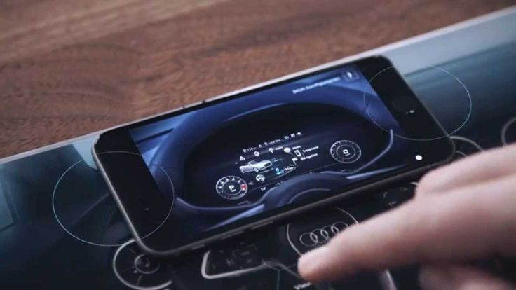 The Audi TT Brochure Hack. An augmented touch-based experience: using conductive ink, the brochure becomes an interface, letting you explore Audi's new Virtual Cockpit