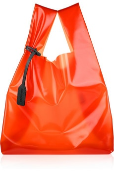 jil sander acetate transparent bag!
