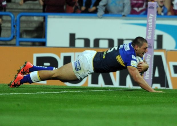 Ryan Hall's late try.