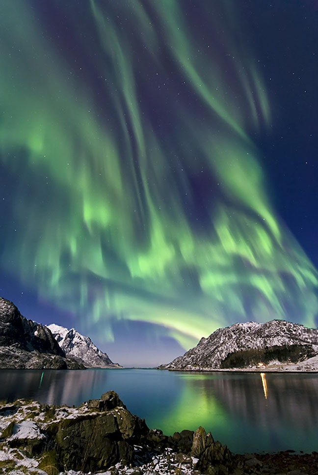 great dancing aurora