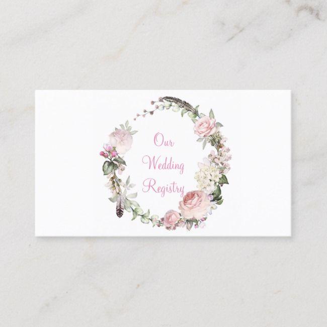 Rosa Rosen und Federn Unsere Hochzeitskarte #Ad, #AD, # Wedding # R …   – Creative Art Logo Ideas