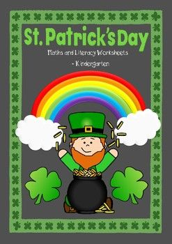 This pack contains 9 different activities (in both black & white and colour) for St. Patrick's Day. These activities are aimed at Kindergarten level (year 0-1).I will be adding more St. Patrick's Day resources shortly for other grade levels, and I will sell some of these packs as bundles also.