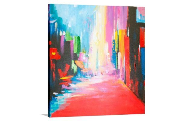 MANHATTAN 3 [32659090] - $379.00   United Artworks   Original art for interior design, buy original paintings online