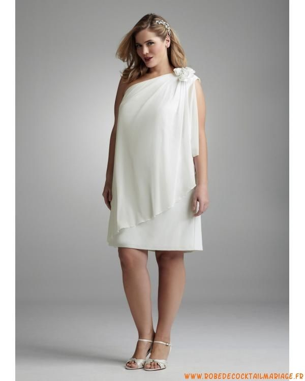 Robe blanche longue pas cher grande taille
