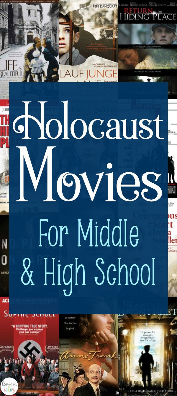 Holocaust Movies for Middle School and High School