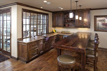 Inspirational Reclaimed Barnwood Kitchen Cabinets