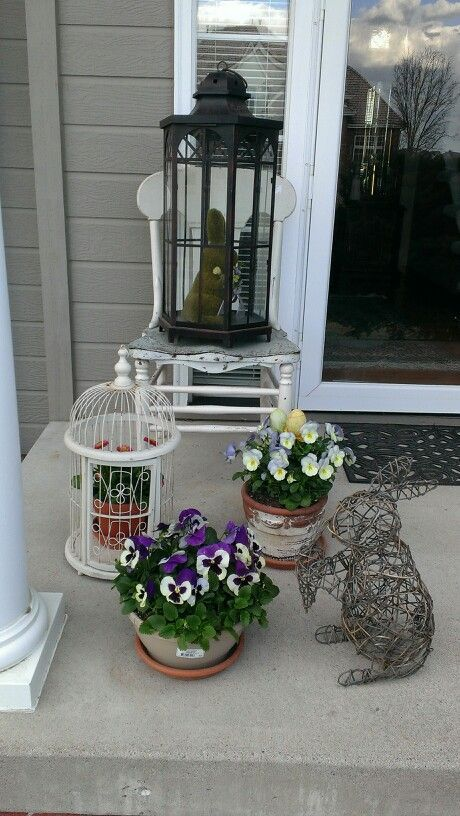123 best images about easter outdoor decorations on for Outdoor easter decorations for the home