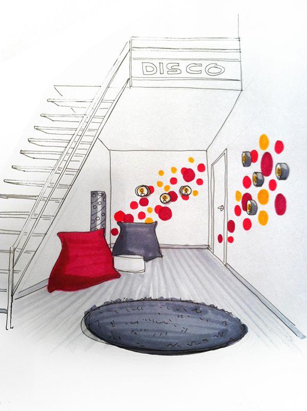 Les 25 meilleures id es de la cat gorie croquis d for Voir decoration maison interieur