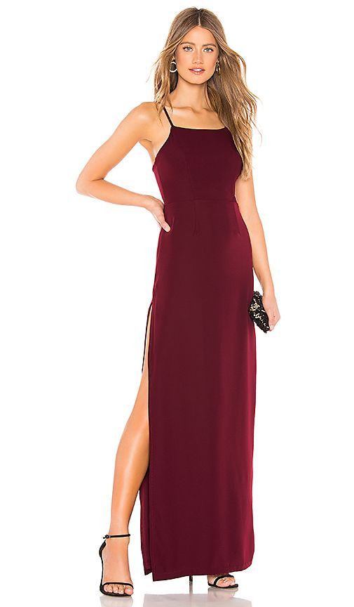 a8a4620a6ad About Us Jordan Maxi Dress in Wine