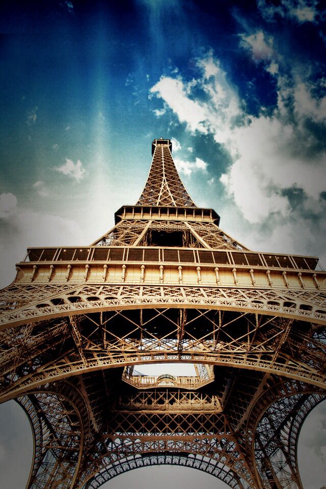 Perfect view of the Eiffel Tower❤️