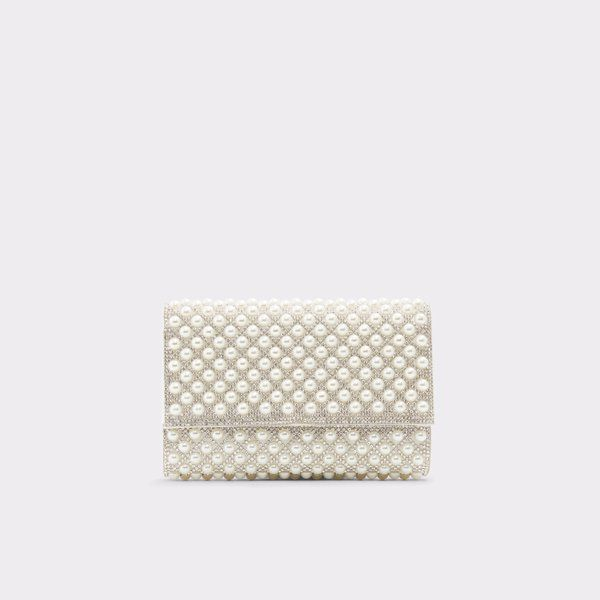 e584d27c801b62 Narzole White Women's Clutches & evening bags | Aldoshoes.com US in ...