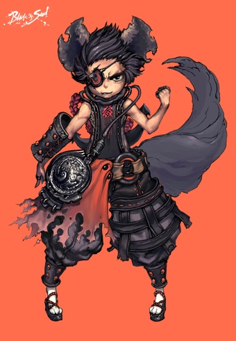 Lyn artwork for Blade and Soul