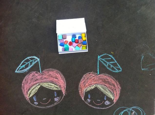 Crayons para las manos de asfalto - Masters - Feria artesanal, hecho a mano