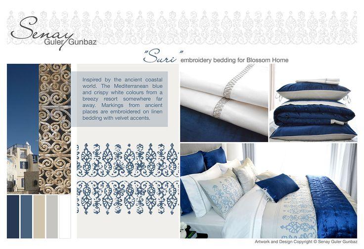 Bedding Design and Development by Senay Guler Gunbaz.