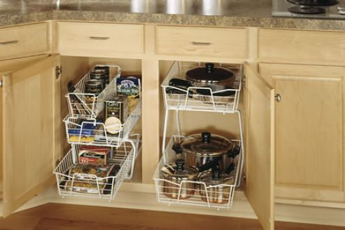 In our new house we have limited cabinet storage space in for Kitchen ideas limited