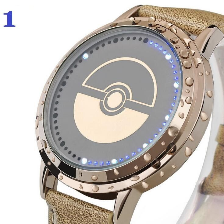 naruto watches personalized digital watch quartz cartoon pendant with product movement from style new anime necklace pocket cosplay