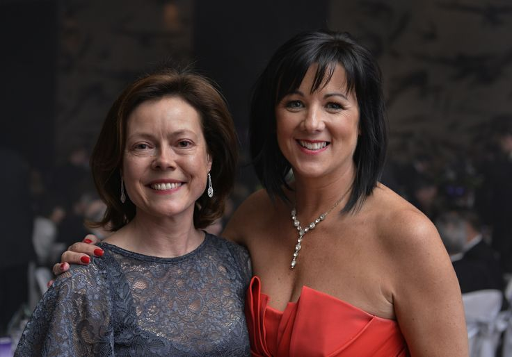Semta's Chief Operating Officer Ann Watson and Contract Manager Joanne Iceton enjoying the evening.