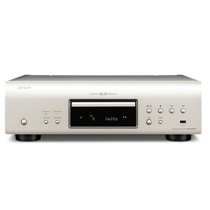 CONVERSOR DCD-2020AE DE DENON. Conversor AL 32/192KHz. Diseño de reloj maestro DAC ultra preciso. Fuente de alimentación independiente para analógico y digital. Recorrido mínimo de señal para proteger la pureza de señal. USB para conexión directa de iPod ó memorias. Entrada USB-B trasera para audio de alta resolución desde un PC. #LectorCD #Denon  #HiFi #altafidelidad