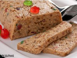 The five-ingredient no-bake fruitcake | 38 Clever Christmas Food Hacks That Will Make Your Life So Much Easier