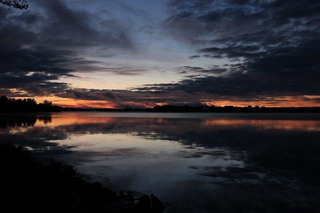 Lake Ramsey sunrise.