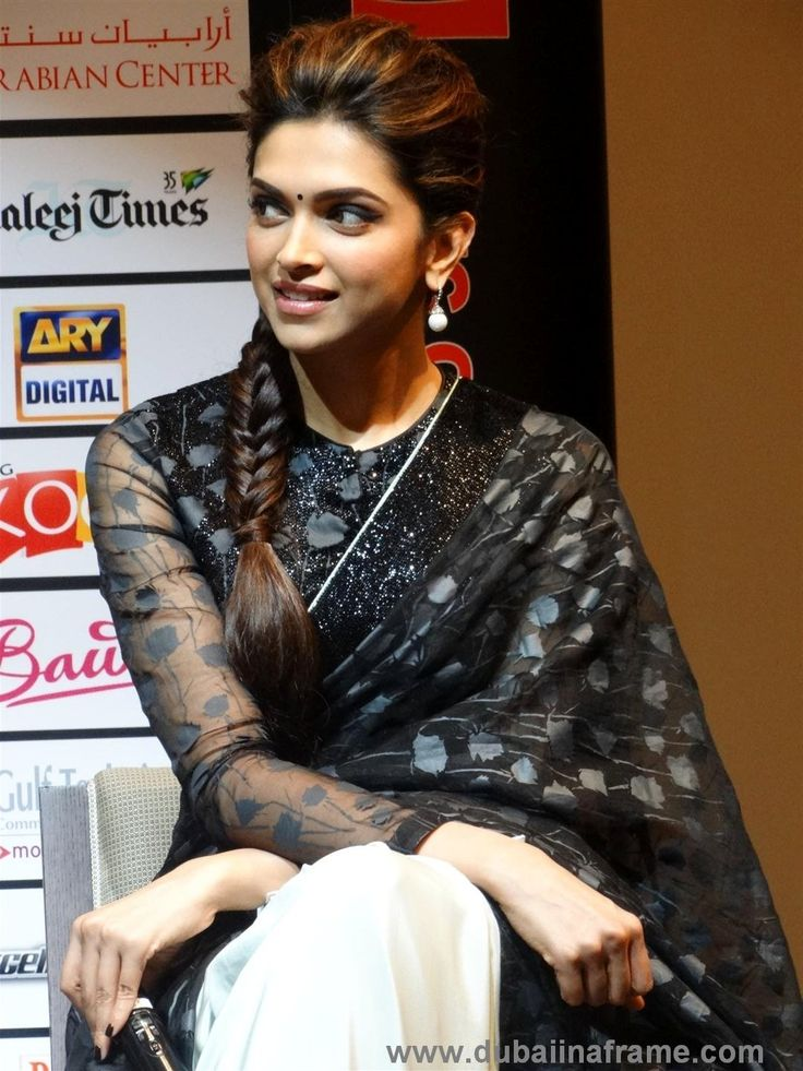 Deepika Padukone in Dubai for the promotional tour of Chennai Express