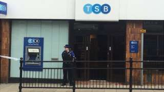 Horden TSB armed robbery: Two men arrested