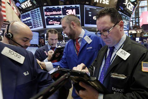 NEW YORK/February 23, 2017 (AP)(STL.News) — Stocks wobbled Thursday as investors changed course and tempered their expectations for faster economic growth. Industrial companies, which have surged over the last few months, finished lower as Wall Str...