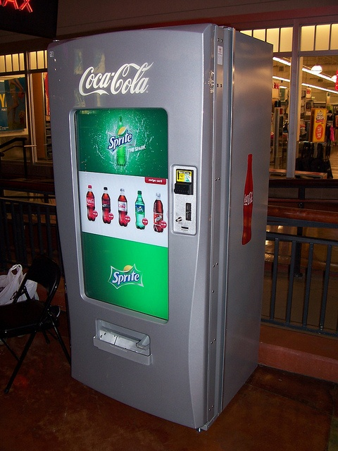 coca cola multi flavor machine