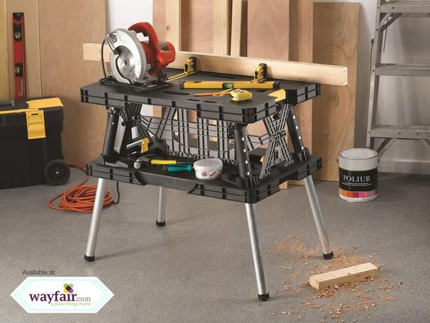 Folding Work Table from Keter : 40 Top Products from I Want That, Season Three : Tv Shows : DIY Network