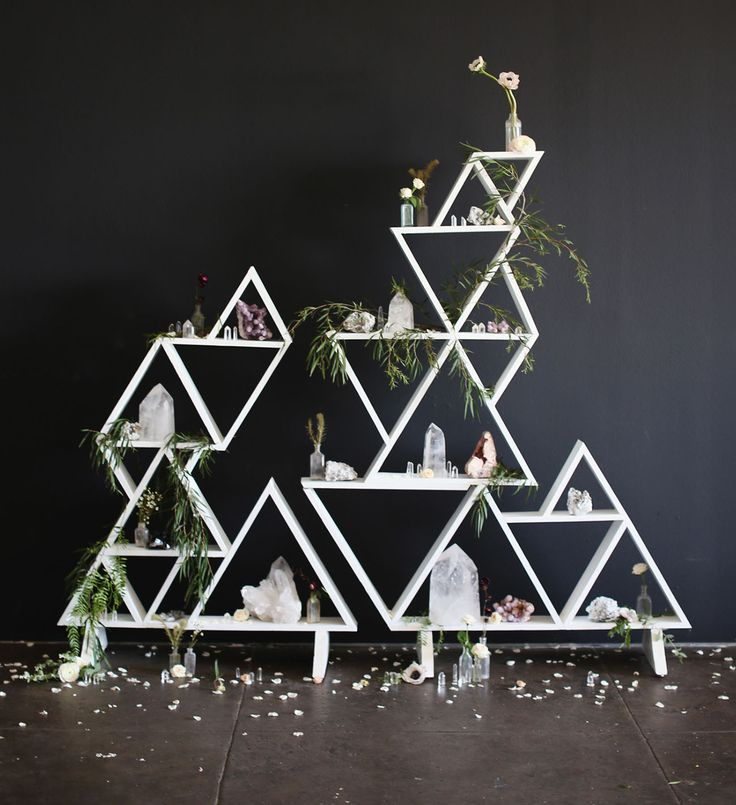 Triangle Wedding Arch: 1000+ Images About Wedding Decoration On Pinterest