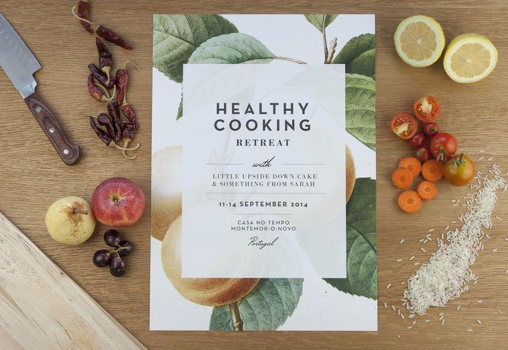Barn Studio | Healthy Cooking Retreat Poster