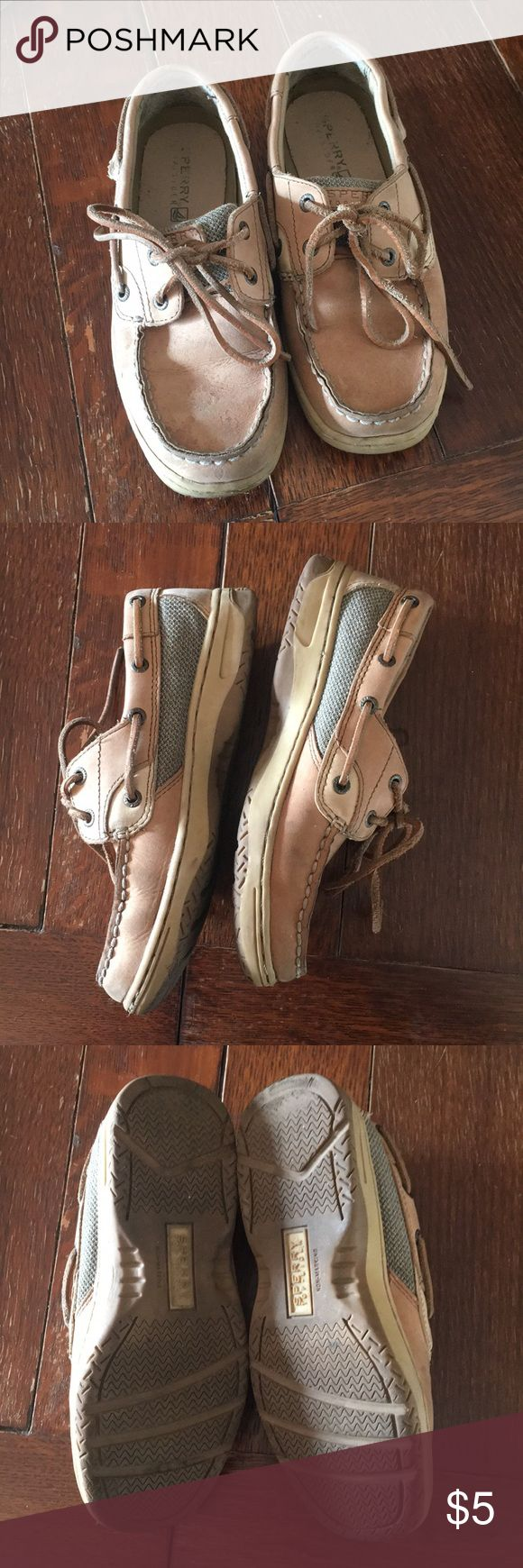 🔴SHOE SALE🔴 Sperry Unisex size 2.5 Used Sperry unisex boat shoes. Must go this week! Sperry Shoes Sneakers