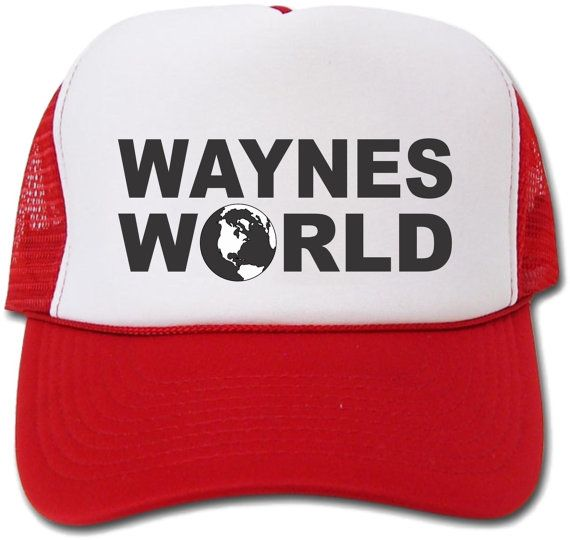 Waynes World hat / cap by crests on Etsy, $8.75
