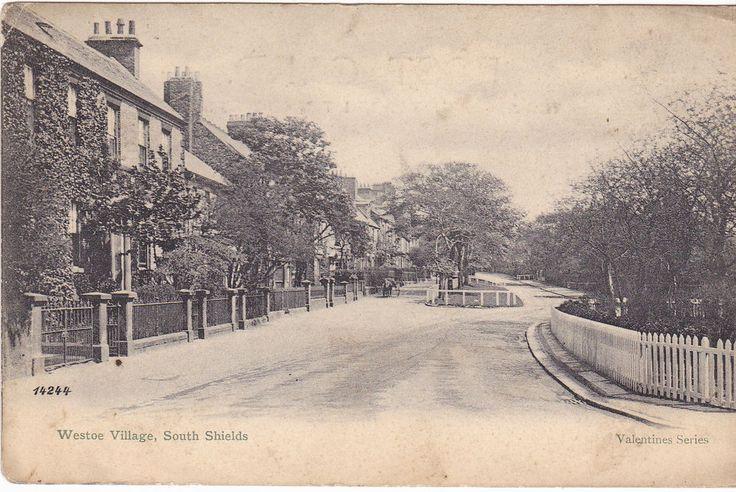 WESTOE VILLAGE, SOUTH SHIELDS - 1907 POSTCARD (our ref DEB1509)