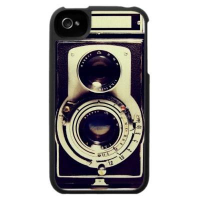 Vintage Câmara Capa Iphone 4 por jahwil | want | Pinterest | Câmeras vintage, Capas de celular e Câmera