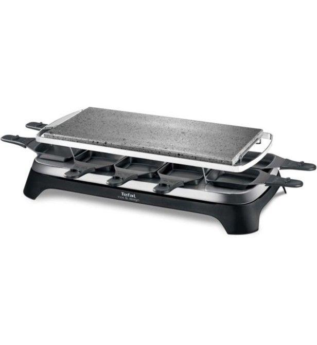 Appareil Raclette multifonction TEFAL PIERRADE INOX&DESIGN PR457812