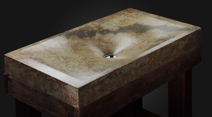 Design sink by Pietra Danzare. Handcrafted of concrete