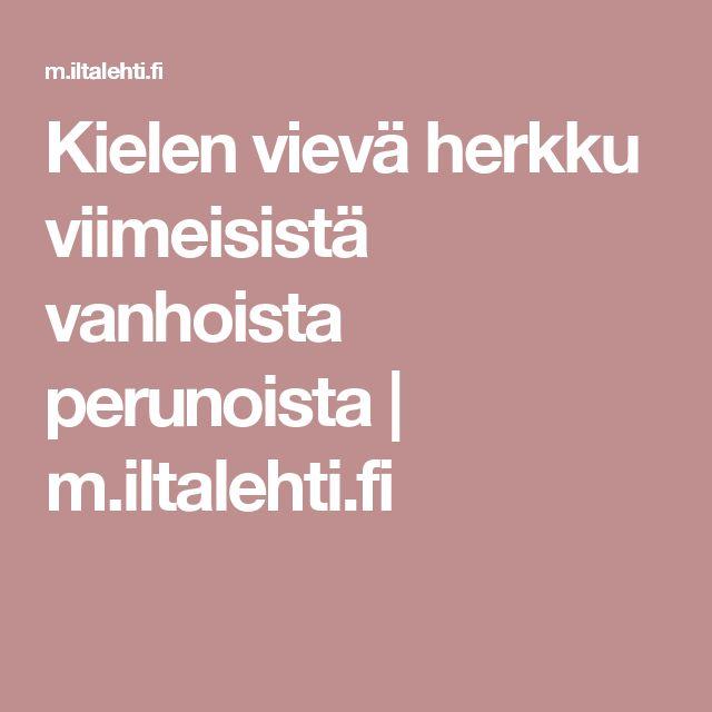 Kielen vievä herkku viimeisistä vanhoista perunoista | m.iltalehti.fi