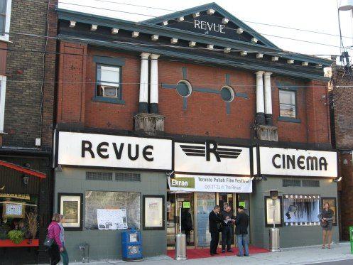 The Revue Cinema in Roncesvalles Village