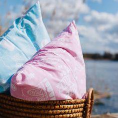 Cushions from Swedish eco brand Majvillan.