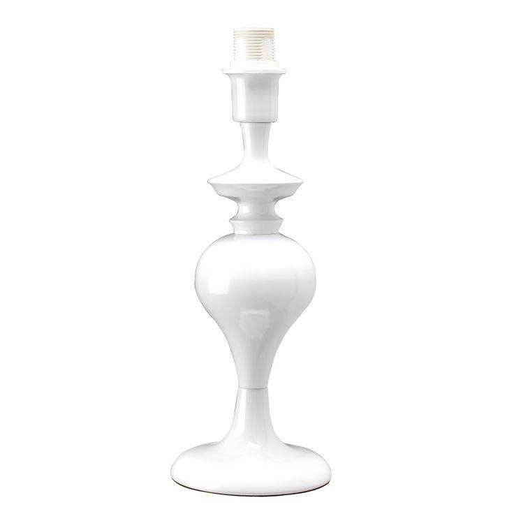 €31 Base per lampada da comodino personalizzabile Bologna bianco: prezzi e offerte online
