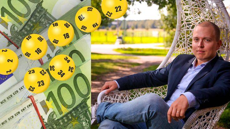 Eurojackpot-miljoonat kannattaa sijoittaa pörssiyhtiöihin ja laittaa osingoilla elämä risaiseksi, sijoittajaguru neuvoo.