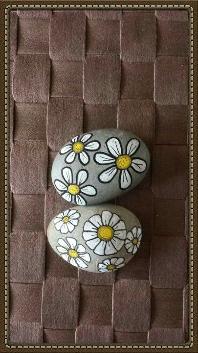 Flowers on a rock
