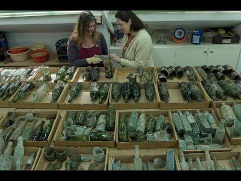 Descubren cientos de botellas de licor vacías de la primera Guerra Mundial. – En nombre de Israel