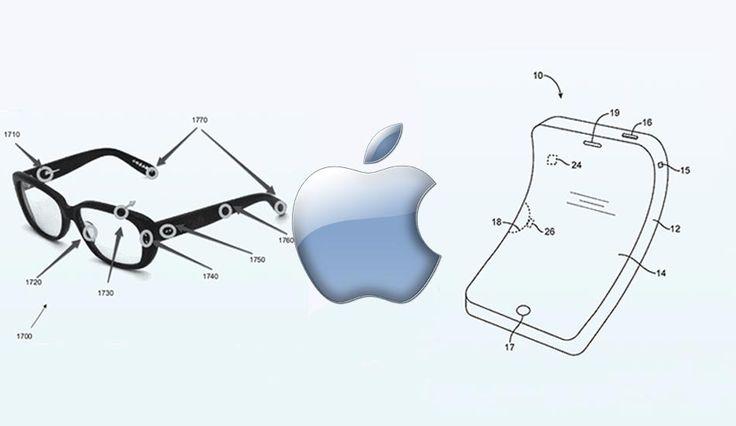 Apple Registra dos Nuevas Patentes, unas Gafas Inteligentes y un iPhone Flexible