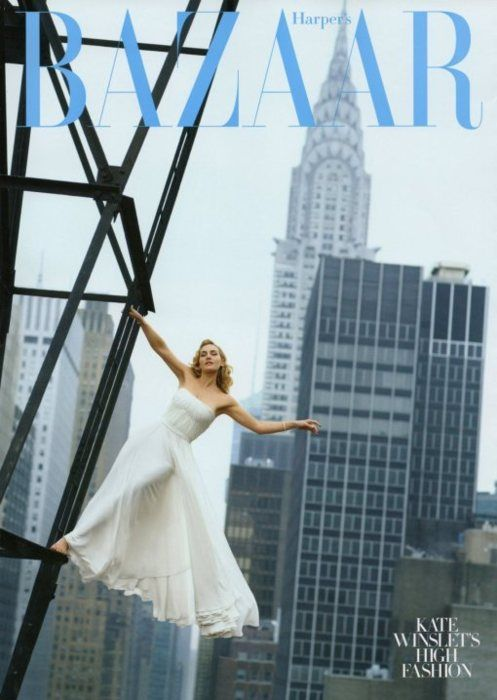 Harper's Bazaar Cover Kate Winslet